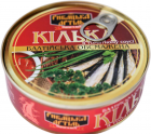 Килька Рыбацкая Артель обжаренная в томатном соусе и масле 230 г (4820186880069) - изображение 1