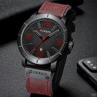 Наручний годинник AlexMosh чоловічі Curren Red-Black (1021) - зображення 3
