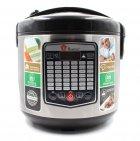 Мультиварка DOMOTEC MS-7725 Silver Steel.объем на 5 литров. Функция отложенного старта, 45 режимов приготовления, в том числе фритюр, тушение, жарку, выпечку и даже йогурт. - изображение 5