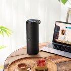 Акустическая портативная влагозащищенная система с 360° звучанием Bluetooth колонка Hoco BS33 Voice Sports. Черная - изображение 2