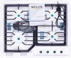 Варочная поверхность газовая WEILOR GM W624 SS - изображение 12