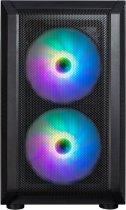 Корпус 1stPlayer D3-G7-PLUS RGB Black - зображення 3