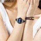 Годинники жіночі Sunkta Ceramic з керамічним браслетом Чорний/Золотистий - зображення 7
