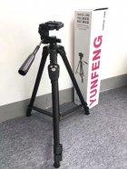 Штатив усиленный в чехле для камеры смартфона фотоаппарата c пультом Yunteng VCT 3388 Black (zhb0453) - изображение 6