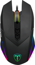 Миша T-DAGGER Lieutenant T-TGM301 USB Black - зображення 1