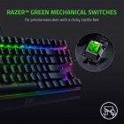 Клавіатура дротова Razer BlackWidow V3 TKL Razer Green USB RU (RZ03-03490700-R3R1) - зображення 4