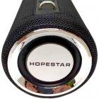 Портативная Bluetooth колонка Hopestar H39 с влагозащитой Black USB, FM (H39) - изображение 3