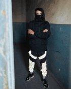 Спортивные штаны Пушка Огонь Dex черные с рефлективом XS - изображение 3