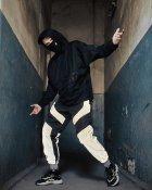 Спортивные штаны Пушка Огонь Dex черные с рефлективом XS - изображение 5