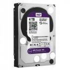 Жорсткий диск Western Digital Purple 4TB 5400rpm 64MB WD40PURZ 3.5 SATA III - зображення 1