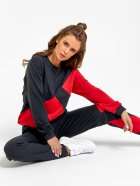 Спортивный костюм ISSA PLUS SA-25 XL Черный с красным (issa2000471148414) - изображение 4