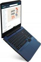 Ноутбук Lenovo IdeaPad Gaming 3 15IMH05 (81Y400ERRA) Chameleon Blue - зображення 3