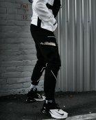 Брюки карго мужские Over Drive Xeed черные с рефлективом XL - изображение 2
