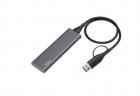 Внешний накопитель 512GB SSD Type-C HOCO UD7 серый - изображение 1
