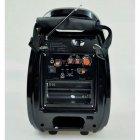 Колонка комбік Bluetooth mp3 радіомікрофон пульт світломузика Golon RX-810 BT, акустика, для дому, природи, портативна, чорна - зображення 4