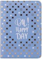 Ежедневник недатированный Yes Good Vibes A6 432 страницы Стальной синий (252050) - изображение 2