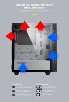 Корпус GameMax Aero Black - изображение 12