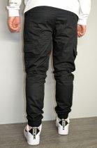 Чоловічі спортивні штани hype drive black розмір XL J-057 - зображення 6