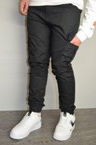 Чоловічі спортивні штани hype drive black розмір S J-057 - зображення 3
