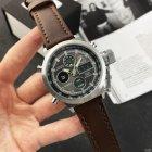 Наручные часы AMST C Silver-Black Brown Wristband - изображение 2