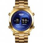 Наручные часы Skmei 1531 Gold-Blue - изображение 1