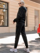 Спортивный костюм Lilove 052 4XL(54-56) Черный (ROZ6400022441) - изображение 7