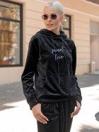 Спортивный костюм Lilove 052 4XL(54-56) Черный (ROZ6400022441) - изображение 9