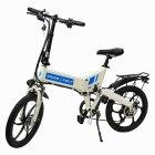 Електровелосипед ZM TigerVolt 20 білий - зображення 6