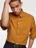 Рубашка Zara 4482/237/305 S Горчичная (04482237305022) - изображение 3