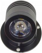 Настінний світильник Brille AL-539/1W NW LED BK (27-056) - зображення 3