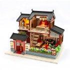 DIY House румбокс будинок-конструктор для самостійної збірки Chinese House (30137) - зображення 1