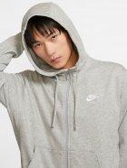 Толстовка Nike M Nsw Club Hoodie Fz Ft BV2648-063 S Светло-серая (193147704006) - изображение 4