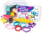 Набор для детской лепки Genio Kids Тесто-пластилин 12 + 3 цвета (TA1068S) (4814723007743) - изображение 3