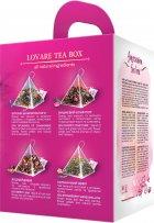 Подарунковий набір чаю Lovare в пірамідках Impression tea box з фірмовою чашкою (4820198877231) - зображення 2