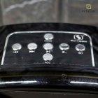 Музыкальная портативная Bluetooth колонка Wireless A25 переносная ЮСБ с громким звуком и светом для телефона, компьютера, ноутбука - USB акустическая стерео система с микрофоном + разъём под флешку + AUX + карта памяти, Чёрный - изображение 5