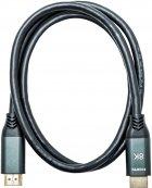 Кабель XoKo HC-100 HDMI — HDMI 8K 2.1 1 м Чорний (HC-100-1) - зображення 1