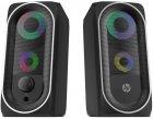 Акустична система HP DHE-6001 LED RGB Black - зображення 1