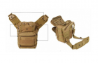 Сумка через плечо тактическая A25 Бежевый - изображение 3