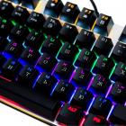 Механічна ігрова клавіатура з підсвічуванням Metoo Zero X08, світчі чорні - зображення 4