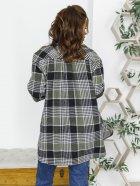Рубашка ISSA PLUS 12240 S Черный/Зеленый (issa2000567762319) - изображение 2