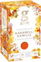 Травянисто-ягодная смесь G'tea Карамельная ромашка 1.75 г х 20 шт (5060207699143) - изображение 1
