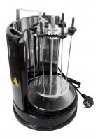 Шашличниця Grunhelm GSE20 чорна електрична 6 шампурів 2000Вт - зображення 7