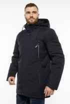 Куртка с капюшоном Time of Style 191P953 48 Темно-синий - изображение 4