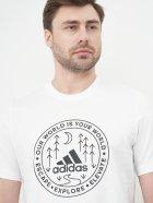 Футболка Adidas M Crcl Xplr T GL2690 M White (4064044286437) - зображення 4
