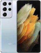 Мобильный телефон Samsung Galaxy S21 Ultra 16/512GB Phantom Silver (SM-G998BZSHSEK) + Наушники Samsung Galaxy Buds Live в подарок! - изображение 1