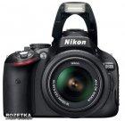 Фотоаппарат Nikon D5100 18-55VR Kit официальная гарантия! (VBA310K001) - изображение 3