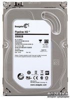 Жесткий диск Seagate Pipeline 2TB 5900rpm 64MB ST2000VM003 3.5 SATA III - изображение 1