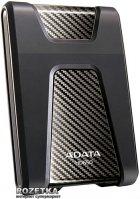 """Жесткий диск ADATA DashDrive Durable HD650 1TB AHD650-1TU3-CBK 2.5"""" USB 3.0 External Black - изображение 1"""