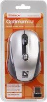 Мышь Defender Optimum MS-125 Wireless Black/Silver (52125) - изображение 4