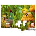 Пчелка Майя 4 пазла в деревянной коробке Bino (13622) - изображение 3